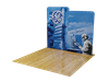 10ft Waveline Scallop BASIC Backwall Kit