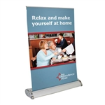 Mini Table Top Retractor Banner