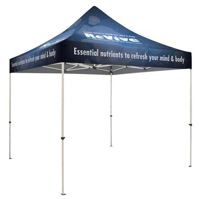 10ft ShowStopper Standard Event Tent Kit - Full Color Dye-Sub