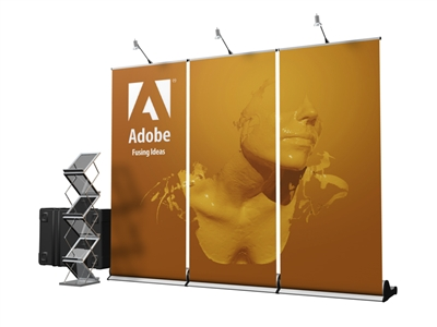 10ft Banner Wall Expo Set
