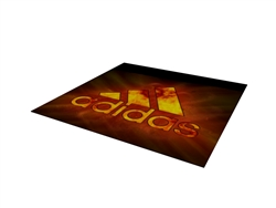 10x10 Dye-Sublimated Tradeshow Carpeting