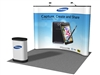 Concave 10' Pop up Display