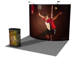 Convex 10' Pop up Display
