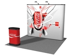 10ft Straight Pop up Display Graphic Case Wrap
