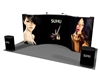 20ft Straight-Curve-Straight Pop up Display