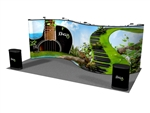 20ft Serpentine Pop up Display