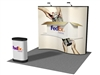 10' Wave Pop up Display