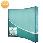 10ft Backlit tension fabric backwall