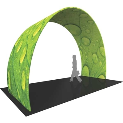 12ft Formulate Skew Arch Tension Fabric Structure - 5
