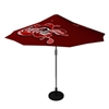 Trade show promotional umbrellas - available in Off-white, Green or Burgandy