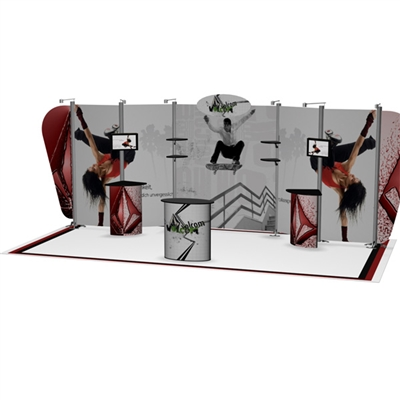 10x20 PRONTO Backwall Kit 2050