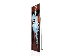 Small Standard PUNTO Banner Stand with Graphic