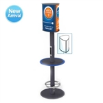 Power Pole 4-Port Mobile Charging Kiosk
