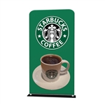 48inch x 78inch TUBOZIP Fabric Banner Stand