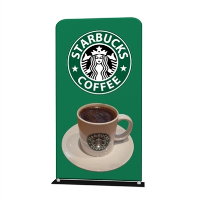 48inch x 76inch Waveline Fabric Banner Stand