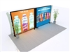 10x20 VK-2940 Segue Hybrid Display Hybrid Trade Show Display