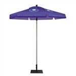 Hexagon Outdoor Promotional Event Umbrella Kit