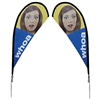 Teardrop Banner Flag Stand