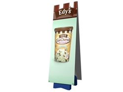 OUTDOOR Double Sided Banner Stand
