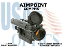 AIMPOINT COMPM5 2 MOA/STANDARD MOUNT