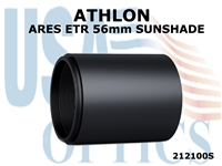 ATHLON ARES ETR 56mm RIFLESCOPE SUNSHADE - BLACK