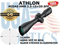 Athlon MIDAS HMR: 215050 Rifle Scope