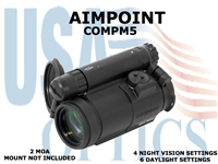 AIMPOINT COMPM5 2 MOA/WITHOUT MOUNT