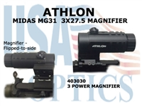 "ATHLON MIDAS MG31 3x27.5 MAGNIFIER<strong><font color = ""red""> 1 LEFT</font></strong>"