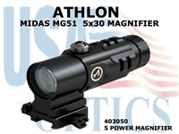 "ATHLON MIDAS MG51 5x30 MAGNIFIER<STRONG><FONT COLOR =""RED""> 1 LEFT</STRONG></FONT>"
