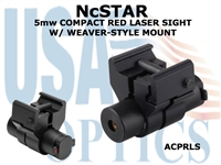 5mw COMPACT RED LASER SIGHT W/ WEAVER-STYLE MOUNT