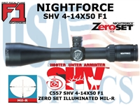 NIGHTFORCE SHV 4-14X50 ILLUMINATED - MIL-R