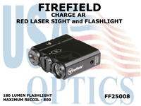 FIREFIELD CHARGE AR RED LASER SIGHT and FLASHLIGHT