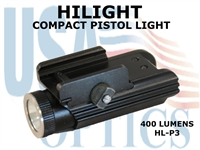 HILIGHT PISTOL LIGHT 400 LUMEN