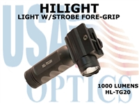 HILIGHT 1000 LM TACTICAL GRIP LIGHT W/STROBE