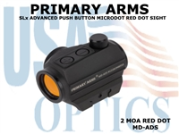 PRIMARY ARMS SLx ADVANCED PUSH BUTTON MICRODOT RED DOT SIGHT