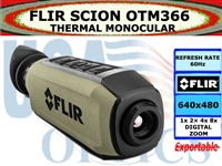 FLIR SCION OTM366 THERMAL MONOCULAR