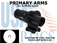 PRIMARY ARMS GLx 2X PRISM with ACSS CQB-M5 5.56/.308/5.45 RETICLE
