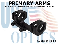 PRIMARY ARMS GLx 30mm CANTILEVER SCOPE MOUNT - 0 MOA
