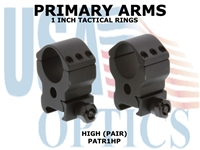 PRIMARY ARMS 1-INCH TACTICAL RINGS - HIGH (PAIR)