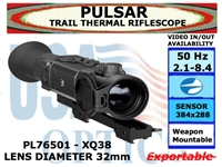 "PULSAR TRAIL XQ38 THERMAL RIFLESCOPE 2.1-8.4x32 <font color = ""red""> LIMITED AVAILABILITY</FONT>"