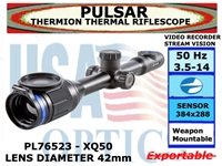 PULSAR THERMION XQ50 3.5-14x42 THERMAL RIFLESCOPE