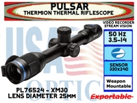 PULSAR THERMION XM30 3.5-14x25 THERMAL RIFLESCOPE