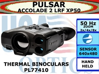 PULSAR ACCOLADE 2 LRF XP50 2.5-20x42 THERMAL IMAGING BINOCULARS