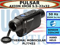PULSAR AXION XM38 5.5-22x32 THERMAL MONOCULAR