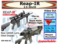 REAP-IR THERMAL WEAPON SIGHT w/ Thumbstick & D-LOC MOUNT