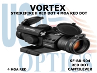 VORTEX STRIKEFIRE II RED DOT CANTILEVER RED DOT