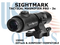 SIGHTMARK 3x TACTICAL MAGNIFIER PRO