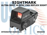 SIGHTMARK ULTRA SHOT M-SPEC FMS REFLEX SIGHT