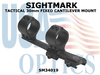 SIGHTMARK TACTICAL 30mm FIXED CANTILEVER MOUNT