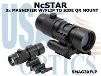 NcSTAR 3x MAGNIFIER WITH FLIP TO SIDE QR MOUNT